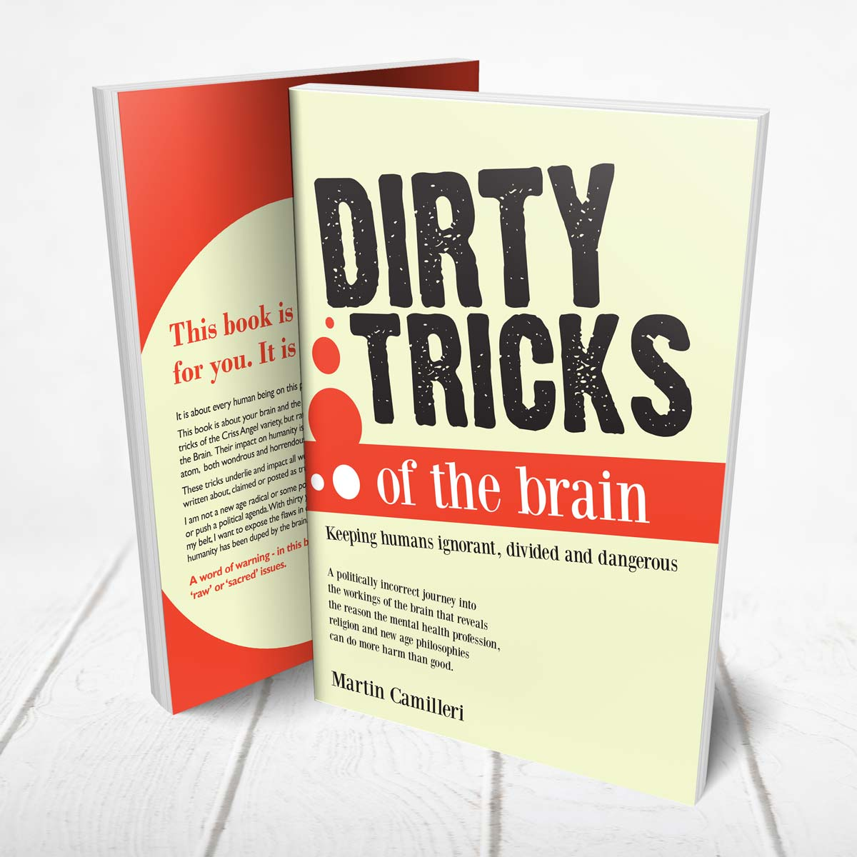 dirty tricks of the brain martin camilleri